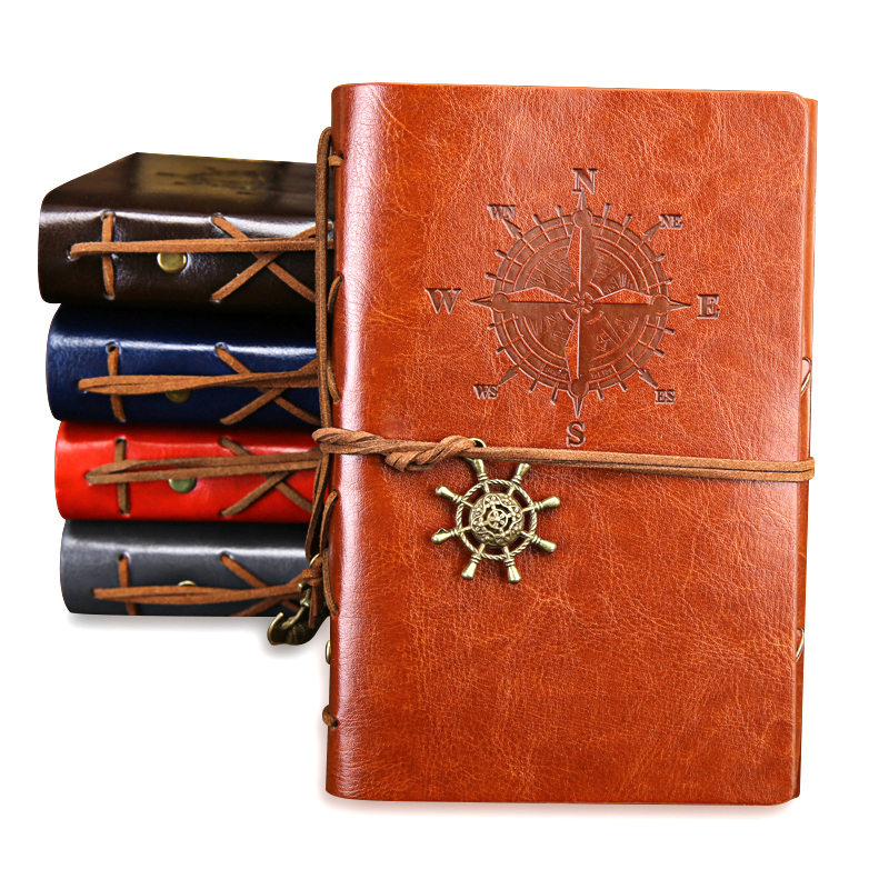 Colorful Retro Nautical Style Notebook