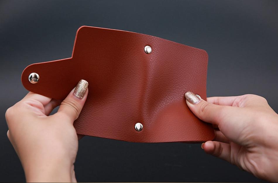 Fashion PU Leather Card Holder